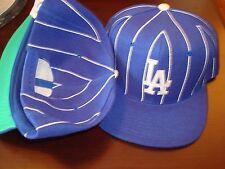 LOS ANGELES DODGERS PINSTRIPE  REFEREE SGA PROMO  90'S HAT CAP VINTAGE SNAPBACK