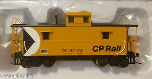 Atlas HO #20003675 Cupola Caboose CP Rail Rd #437472 (Trainman)