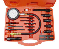 17pc Diesel Engine Compression Pressure Test Kit Universal Tool Set