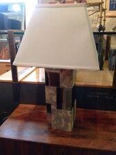 Paul Evans Directional Cityscape Style Mid Century Modern Cork Chrome Lamp
