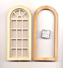 Window -  Palladian Round Top - 2169 wood dollhouse miniature 1:12 scale USA