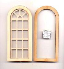 Window -  Palladian Round Top - 2169 wood dollhouse miniature 1:12 scale USA