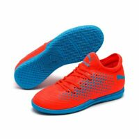 Puma Future 19.4 IT Kids Youth Football Soccer Indoor Training Boots Shoes Red B