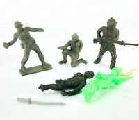 Vintage Toy Soldiers Tim-mee Mixed Lot Plastic Grenade Guns Army Armed Forces