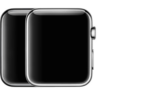 Used Apple Watch 42mm Black Sport A1554 (1st generation)