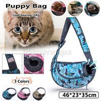 Pet Dog Cat Puppy Carrier Mesh Comfort Travel Tote Sling Backpack Shoulder