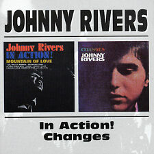 Johnny Rivers- Johnny Rivers in Action!/Changes  (Pop) (CD, Jun-1998, Bgo)