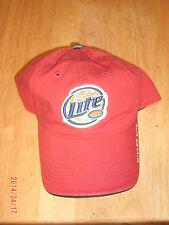 Miller Lite Beer Hat Cap NWOT Free Shipping!