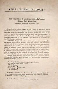 TOSCANA ISOLA D'ELBA GEOLOGIA