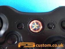 Custom XBOX 360 * Captain America Shield logo * Guide button