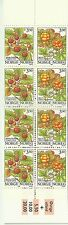 Norvege Norway Flore Fruits Fraises Mures Wild Strawberries ** 1996 Carnet 15€