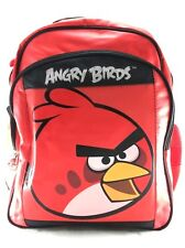 "Rovio Angry Birds Boys & Girls 14"" Canvas Red School Backpack"