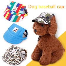 Haustier Hund Hut Baseball Mütze Sommer Leinwand Cap Für Haustier Hund