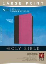 Premium Slimline Reference Bible-NLT-Large Print Fruit of the Spirit (Leather /