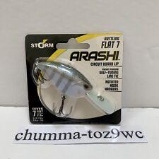 STORM ARASHI FLAT 7 CRANKBAIT BRAND NEW FACTORY SEALED! (DS)!