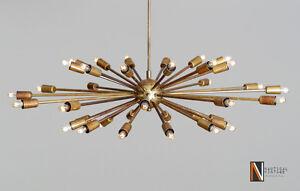 36 Lights Arms Mid Century Sputnik chandelier starburst Ceiling light Fixture