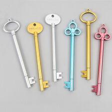 2X Creative Lovely Key Pen Gel Pen BallPoint Pen Student Office Kid Stationery J