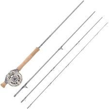 Waterworks Lamson Center Axis Saltwater 7wt 4 Pcs 9' Fly Rod & Reel Combo