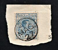 Marca da Bollo Tassa Fissa Regno di Italia Cent. 10 Usato per Posta Emergenza