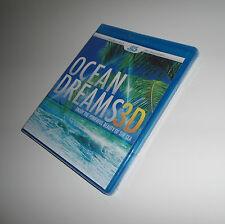 Ocean Dreams Real 3D: Powerful Beauty of Sea (Blu-ray 3D / 2D Version NEW) Film