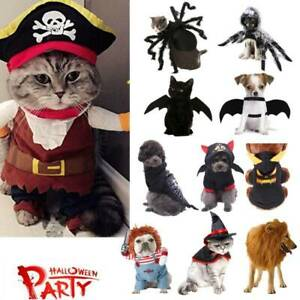 Pet Dog Cat Party Spider/Pumpkin Fancy Dress Cospaly Clothes Costumes