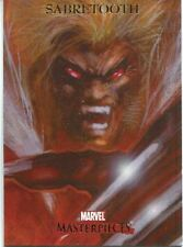 Marvel Masterpieces 2007 Base Card #70 Sabretooth