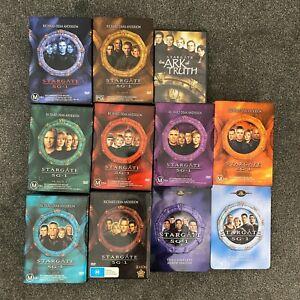 Stargate SG1 Complete Season 1 2 3 4 5 6 7 8 9 10 The Ark of Truth DVD Bundle R4