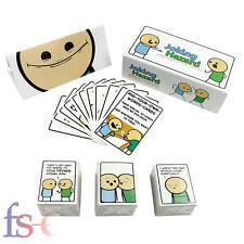 Joking Hazard Game Card Kickstarter Cyanide And Happiness Box + Expansion 1