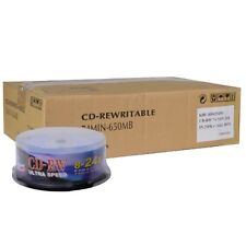 KHypermedia CDRW25-24x 650MB 74-Minute CD-RW CDRW 25 Pieces per Spindle Case