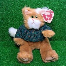 Ty Attic Treasures Pouncer The Cat Rare Retired 1993 Jointed Plush Toy MWMT