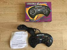 Boxed Sega Megadrive Competition Pro 6 Button Control Pad