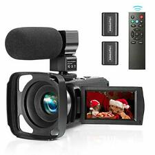 Camcorder Video Camera YouTube Vlogging Recorder Full HD 1080P 30FPS 36MP 3.0''