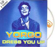 Yorgo - Dress You Up / Lost Without You - CDS - 1994 - House 2TR Card Madonna