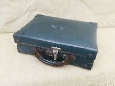 Vintage Mid Century Small Suitcase / Luggage - Possibly Military