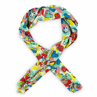 Disney Store Authentic Mickey Mouse '80s Flashback Scarf NWT