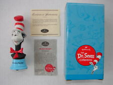 Hallmark Dr. Seuss Collection Porcelain Cat In The Hat 2000 Figurine Mint W/Box