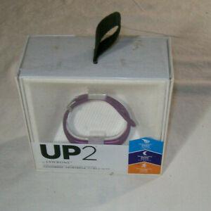 NIB UP2 Jawbone Wireless Activity Food and Sleep Tracker with Smart Coach Purple