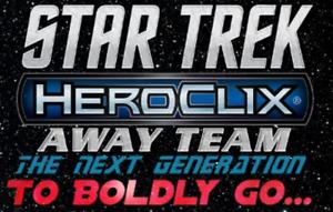 Star Trek HeroClix Away Team TNG: To Boldly Go... Single Figure