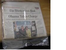 lot of 2 Washington Post President Obama Inauguration Newspaper -Special Edition