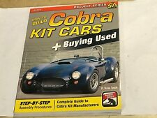 How to Build Cobra Kit Cars WORKSHOP MANUAL Inc' BUY GUIDE 427SC Mk3 4 ROADSTER