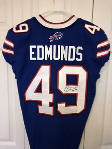Tremaine Edmunds Signed / Autographed 2019 Game Issued Buffalo Bills Jersey