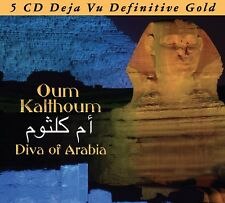 OUM KALTHOUM - DIVA OF ARABIA 5 CD NEUF