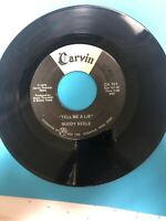 Memphis Country Bopper 45 On CARVIN RECORD  LABEL 101 Tell Me A Lie VG+ Clean