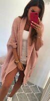 Cardigan donna lungo morbido, giacca, giubbino, cappotto, maglione, comodo