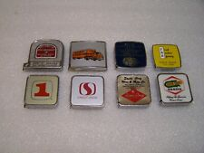 8 Vintage Advertising Tape Measures 7 Barlow and Other USA