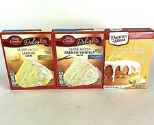 Citrus Cake Mix Party Pack Of 3 Orange And Lemon And French Vanilla