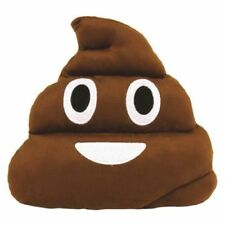 Emoji Emoticon Poop Cushion Plush Soft Stuffed Cushion Pillow Novelty Small 25cm