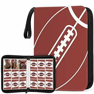 Football Card Binder 720 Pockets Sleeves Baseball Sport Cards Holder Organizer