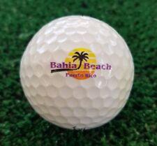 BAHIA BEACH Puerto Rico (1) LOGO GOLF BALL - Titleist