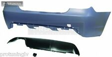 new Rear BUMPER BMW E60 5 series 2003-2007 M look sport m-tech package back M5